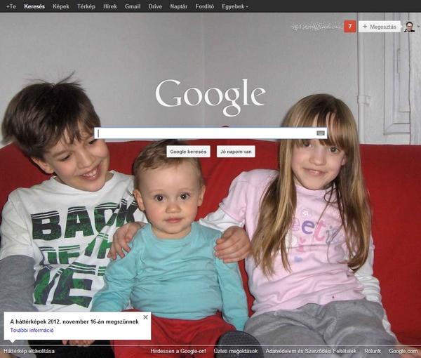 Vége a Google.com háttérképeknek.