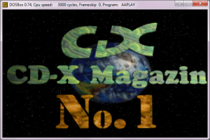 CD-X magazin animáció