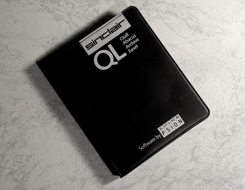 SInclair QL Microdrive Casette Case_