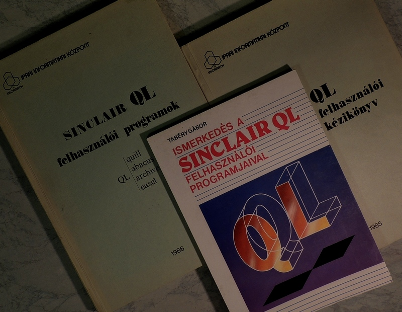 Sinclair QL könyvek magyarul