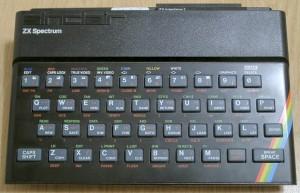 Sinclair ZX Spectrum billentyűzet