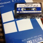 NEC PC 6001 tape Windows 8.1