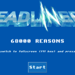 The Deadliners 68000 reasons demo nyitókép