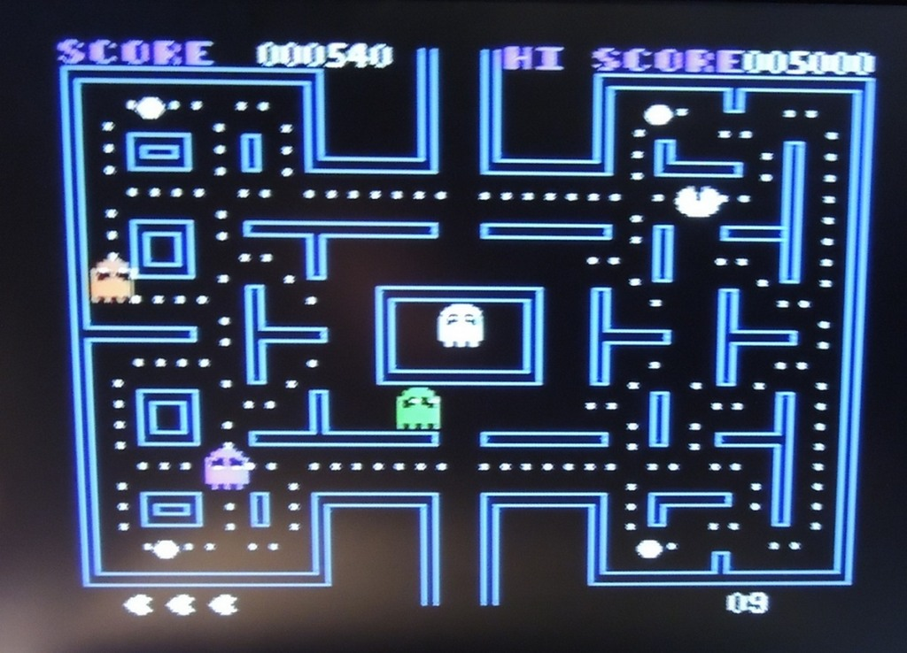 Apple IIe Pac-Man