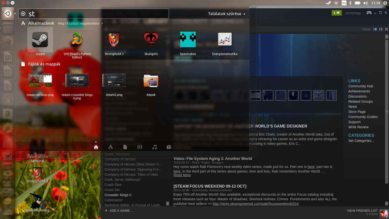 Steam on Linux x64