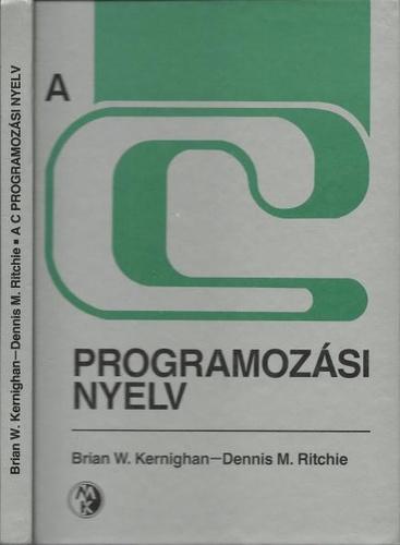 A C programozási nyelv könyv borító