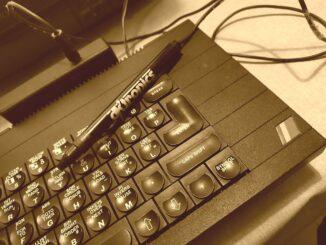 ZX Spectrum Plus DKTRONICS fényceruzával