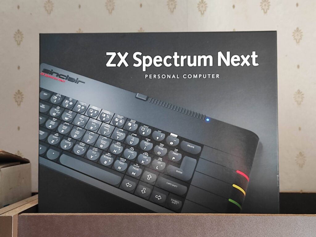 ZX Spectrum Next box