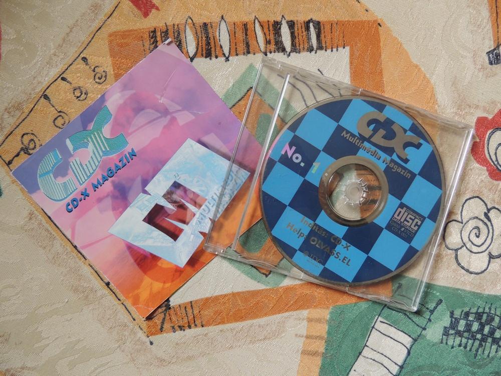CD-X 1 magazin
