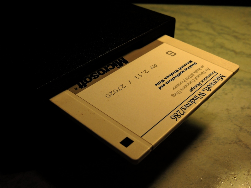 Microsoft Windows 286 install floppy