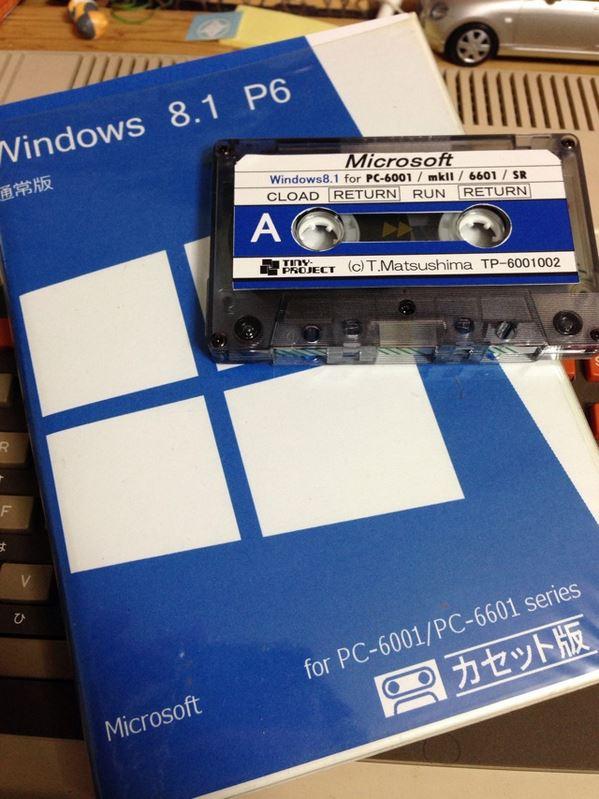 NEC PC 6001 tape Windows 8.1