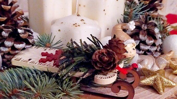 Karácsonyi koszorú - részlet