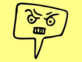 Rage, angry face