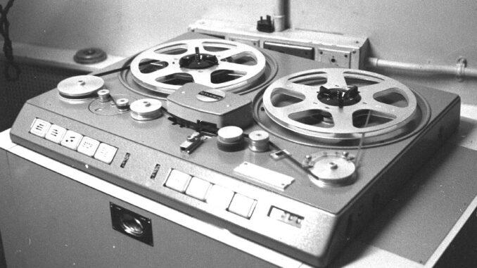 Studer1969 szalagos magnetofon